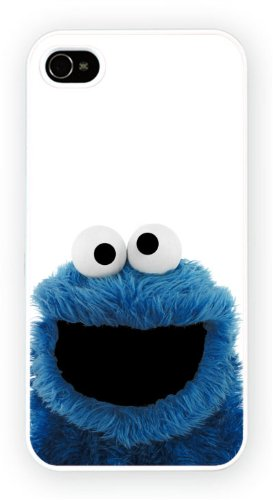The Cookie Monster Muppets, iPhone 5 5S, Etui de téléphone mobile - encre brillant impression