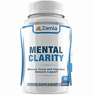 Natural Ayurvedic Memory And Focus Booster - Bacopa Monnieri, Ashwagandha, Shankhpushpi Capsules - Mood and Brain Health Support