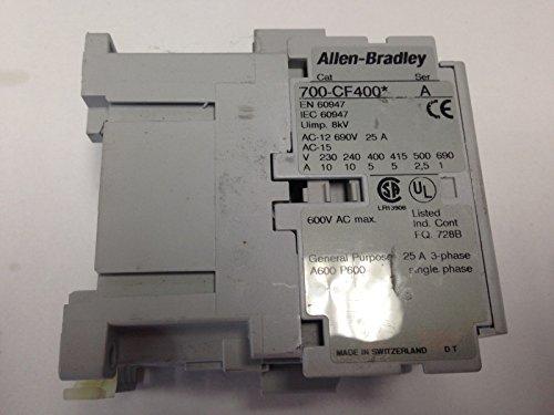 NEW A-B Allen Bradley 700-CF400* 4 Pole Relay Nor. Open Contacts 110 VAC CoiL (Allen Bradley Ab Relay)