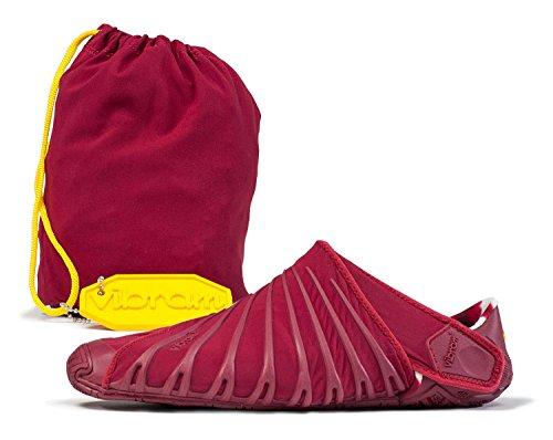 Original betterave Chaussures Furoshiki transport – pour kit pratique pour avec FiveFingers Vibram Rouge nbsp;2 en femme sac femme de nus pieds R15xntqzw
