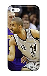 Iphone 5/5s Case Cover Skin : Premium High Quality San Antonio Spurs Basketball Nba (13) Case
