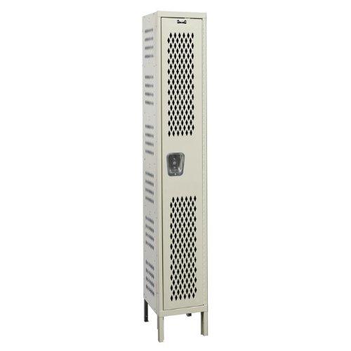 Heavy Duty Ventilated Locker (Hallowell U1588-1HDV-HG Heavy-Duty Ventilated (HDV) Locker, 15