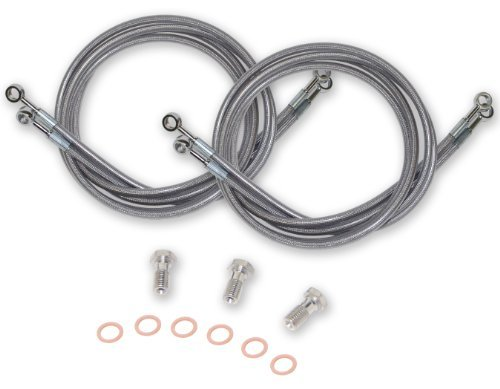 Streamline 400EX-R Stainless Steel Braided Rear Brake Line