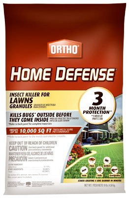 Scotts Ortho Roundup 0167410 Home Defense Insect Killer for Lawns, 10-Lbs. - Quantity 40