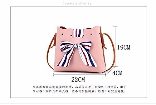 d'épaule Fashion sac MSZYZ lady's Pink de seul vacances Cadeaux SFPF0