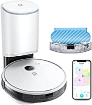 yeedi Vac Station Robot Vacuum and Mop, Self-Emptying 3 in 1, 30 Days Auto Empty, 3000Pa Suction, Carpet Detec
