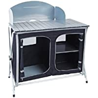 8a1753deb78 Royal Easy Up Kitchen Cupboard Stand with Storage Shelves Camping Cooking  Unit 355414