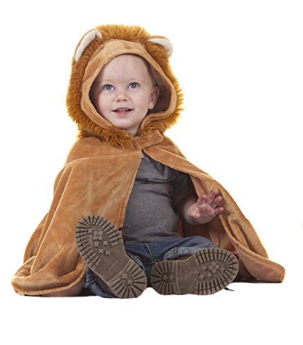 Creative Education Great Pretenders Lion Toddler Size 1-3 Dress Up Cape ()