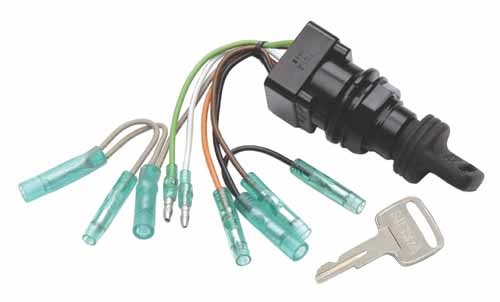 Sierra International MP51010 Ignition Switch for Suzuki 2 and 4-Stroke Outboards Wires Are Color Coded & Replaces 37110-99E00