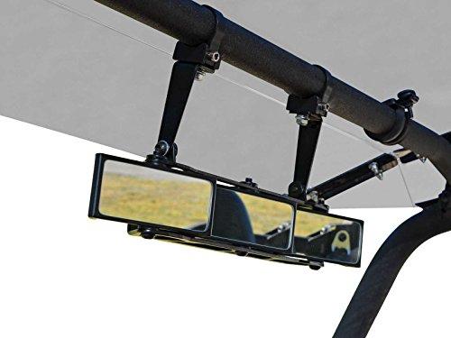 SuperATV Heavy Duty 3 Panel Rear View Mirror With 1.5