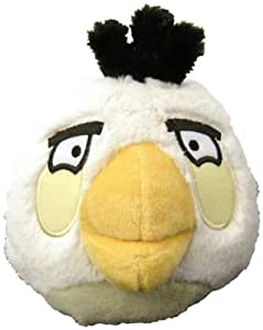 Angry Birds Plush 5-Inch White Bird with Sound