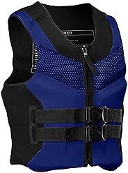 Life Jackets for Adults, L-XXXXL Plus Size Ultra-Thin Big Buoyancy Adult Life Vest Jacke, Life Jackets for Adu