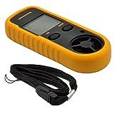 GM816 LCD Digital Handheld Wind Speed Gauge Meter Measure Anemometer Thermometer