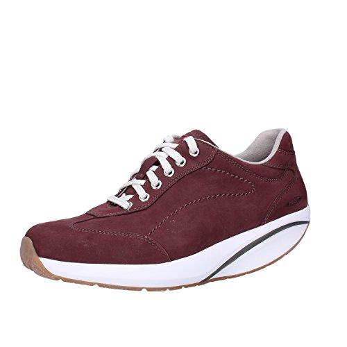 MBT Sneakers Mujer Nubuck (Cuero) (37 EU, Borgoña)