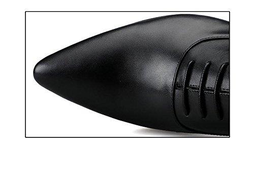 Pour black Chaussures Travail Affaires Chaussures De Mariage Hommes Astuce Habillées Occupation K LHLWDGG Noir Oxford Chaussures Casual Dentelle Hommes qHzUtZfw