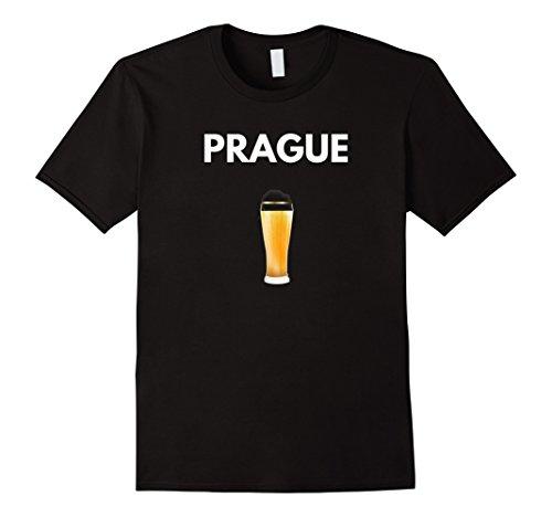 (Prague Czech Republic Beer Heaven Travel T-shirt)
