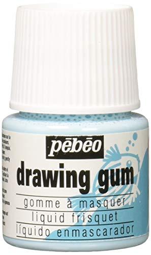 Pebeo MAGIC! Drawing Gum for Kids, Masking Fluid, 45 ml Bottle