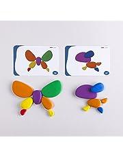 edx education 54047 Rainbow Pebble (Pack of 36)