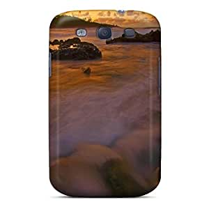 Special Design Back Seaside Dreamscape Phone Case Cover For Galaxy S3 by icecream design