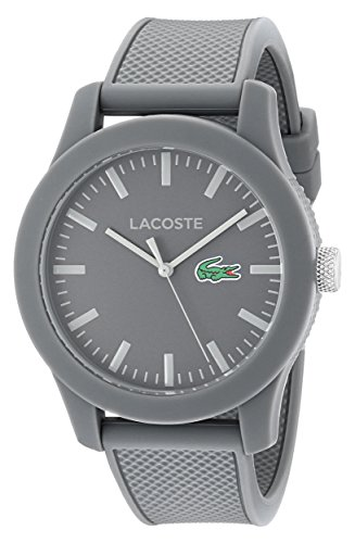 Lacoste Men's 2010767 Lacoste.12.12 Analog Display Quartz Grey Watch (Watches Lacoste)