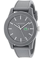 Lacoste Mens 2010767 Lacoste.12.12 Analog Display Quartz Grey Watch