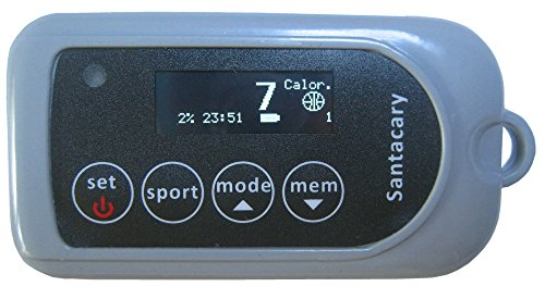 Santacary S2 Badminton, Tennis, Basketball, Table tennis and Rope Skipping Sports Calorie Meter by Santacary