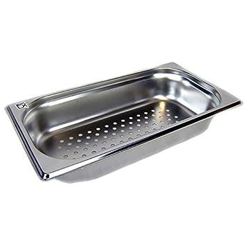 GN-Behälter 1//3 Tiefe 100 mm 4,0 Liter Gastronormbehälter Gastronorm Edelstahl