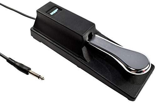 HQRP Pedal sostenuto para PSR-E443 Yamaha teclados portátil