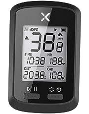 Blesiya for XOSS G G GPS Fiets Computer, Draadloze Bluetooth Fiets Snelheidsmeter Kilometerteller, oplaadbare Fietsen Computer met LCD Automatische Backlight - G