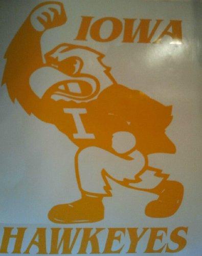 New Iowa State Hawkeyes Cornhole Decals - 2 Cornhole Decals