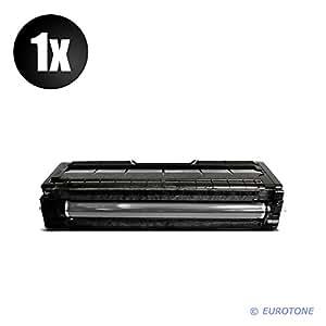 Eurotone Print Cartridge para Ricoh Aficio : SP C250SF / SP C250DN reemplazado negro BK Cartucho - compatible Premium Alternative - non oem