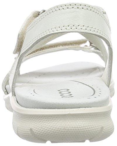 ECCO Footwear Womens Babett Cross Sandal Dress Sandal, Shadow White, 41 EU/10-10.5 M US Photo #6