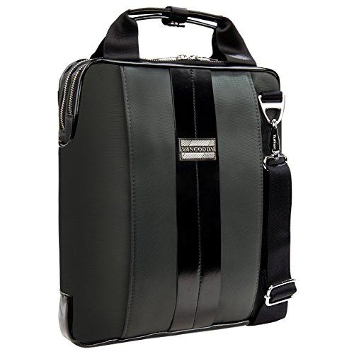 Vangoddy Modern Charcoal Gray Messenger Bag for Dell XPS ...
