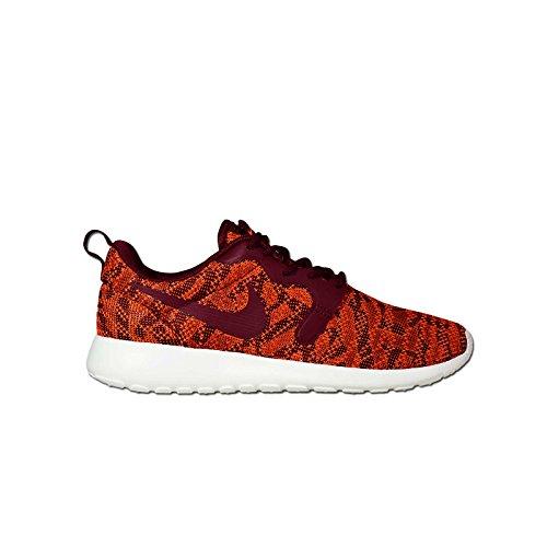 Nike Womens WMNS Roshe One KJCRD Jacquard Total Orange/Team Red-Sail Fabric Size 7.5 ()