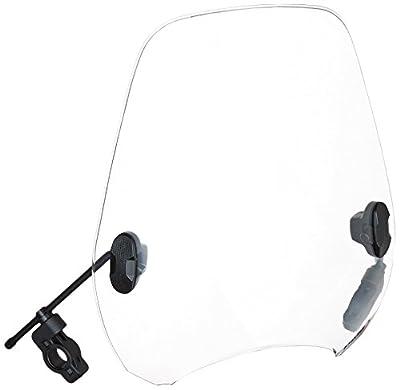"Puig 0336W Clear Custom II Windshield for 8"" Headlight"