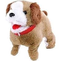 Lovely Walking Barking Electronic Moving Plush Dog Toy Pet Toy Kids Toy (Pack of 1 Random)