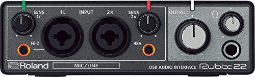 Roland RUBIX22 Rubix 22 USB Audio Interface 2 in/2 out by Roland