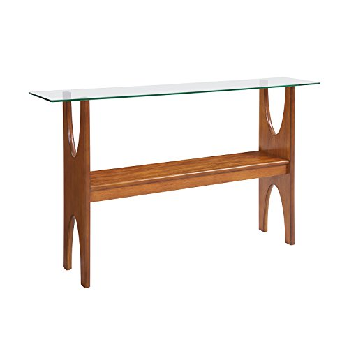 Midcentury Modern Table (Console) - Wood Teak Console Table