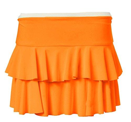 Jupe Orange Evase Non Rara Fast Fluo Femmes Mini Fashion Beau Chaude qHxw4E7gz
