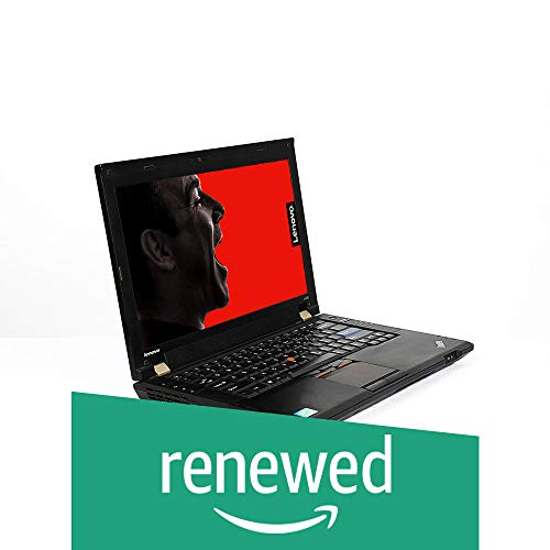 (Renewed) Lenovo Thinkpad L420 14.1-inch Laptop (2nd Core I5 2520M/4GB/320GB/Window 7 Pro 64 Bit/Integrated Graphics), Black