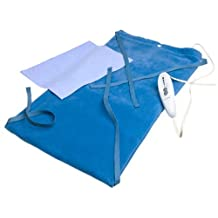 SoftHeat Deluxe Heating Pad Moist/Dry, King Size, 12-Inch by 24-Inch