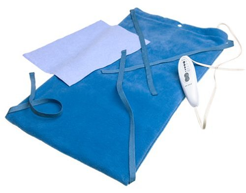 MaxHeat by SoftHeat Deluxe Heating Pad Moist/Dry, King Size, 12-Inch by 24-Inch, HP950-12-3P-S