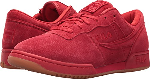Fitness Fila Fila Red Original Gold Zipper Mens Gum Metallic gqSSawRf