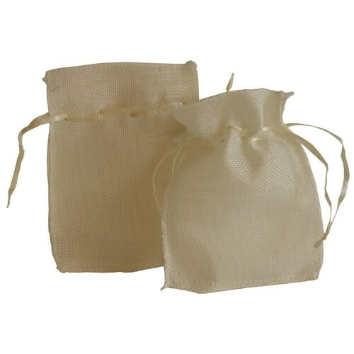 "UPC 700112162862, JAM Paper® Burlap Pouches - 4 1/2"" x 6"" - White Recycled - 96/pack"