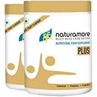 Netsurf Naturamore Food Supplement Plus | Mix Fruit Flavour | 250g | Probiotics | Prebiotics