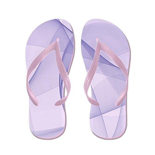 CafePress Fractal Purple - Flip Flops, Funny Thong Sandals, Beach Sandals Pink