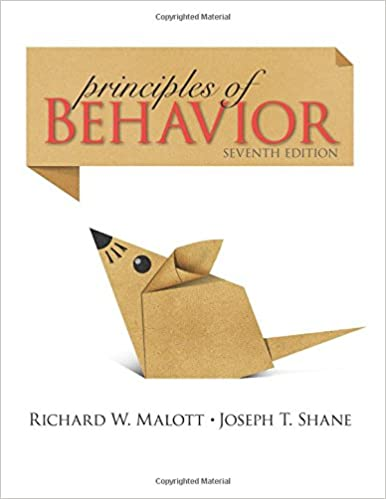 amazon principles of behavior seventh edition richard malott