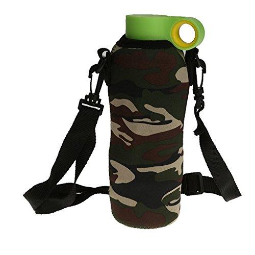 veroda 750ml Outdoor Sport Wasser Flasche Carrier Cover Neoprene Isolator Sleeve Tasche Fall Beutel
