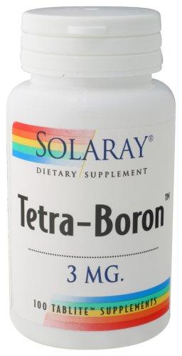 Solaray - Tetra-Boron, 3 mg, 100
