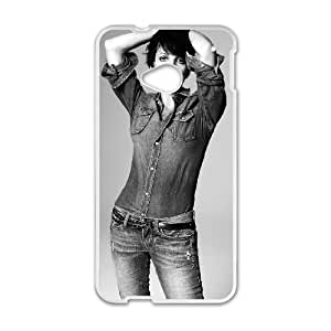 HTC One M7 Cell Phone Case Covers White Nena MMY Generic Clear Phone Case